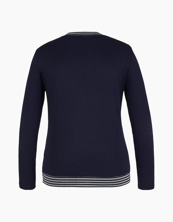 MY OWN Shirt mit Muster und Glanzeffekt | ADLER Mode Onlineshop