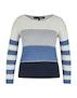 Offwhite/Blau/Marine/Silber