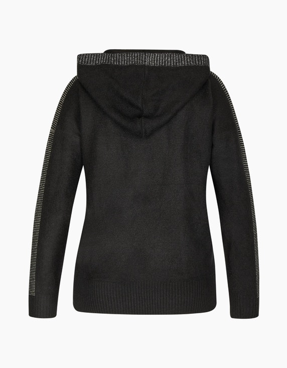 MY OWN Pullover mit Kapuze und Schmucksteinen | ADLER Mode Onlineshop