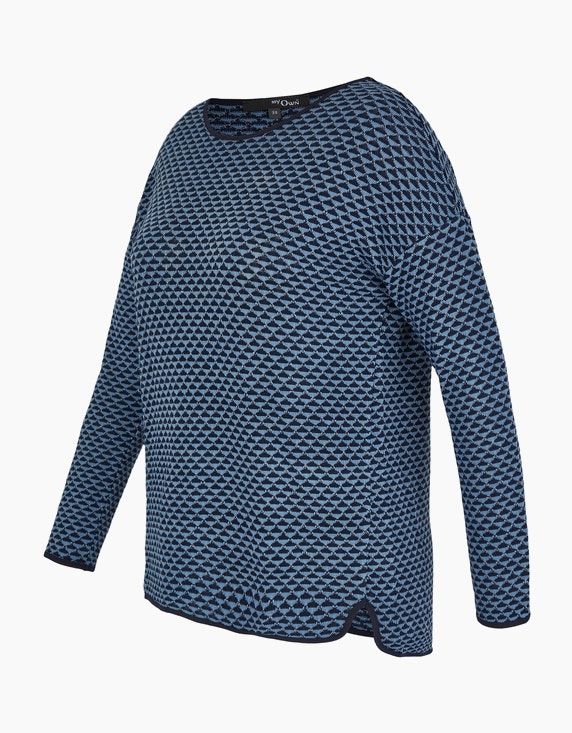 MY OWN Pullover mit Allover-Muster | ADLER Mode Onlineshop