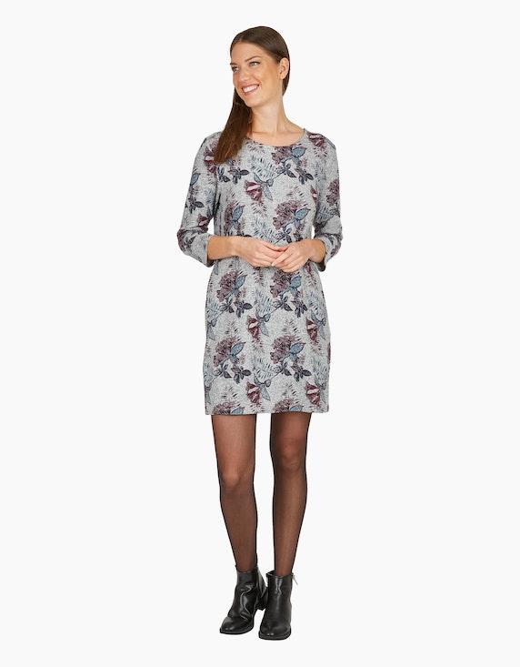 MY OWN Flauschiges Kleid mit Allover-Print   ADLER Mode Onlineshop