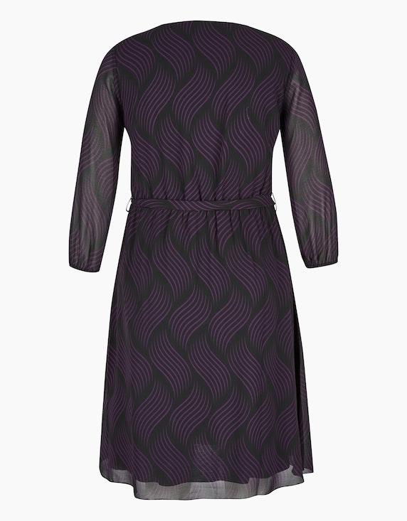MY OWN Chiffon-Kleid mit Allover-Druck und Pailletten | ADLER Mode Onlineshop
