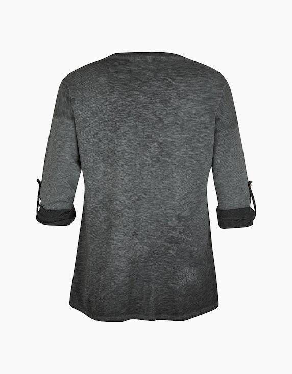 Thea Shirt mit Frontprint, oil-dyed | ADLER Mode Onlineshop