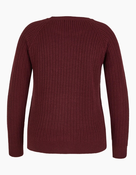 Via Cortesa Pullover in Struktur-Strick | ADLER Mode Onlineshop