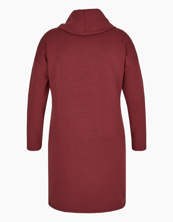 Via Cortesa Sweat-Kleid mit weitem Rollkragen   ADLER Mode Onlineshop