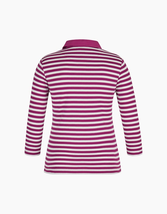 Bexleys woman Poloshirt mit 3/4-Arm | ADLER Mode Onlineshop