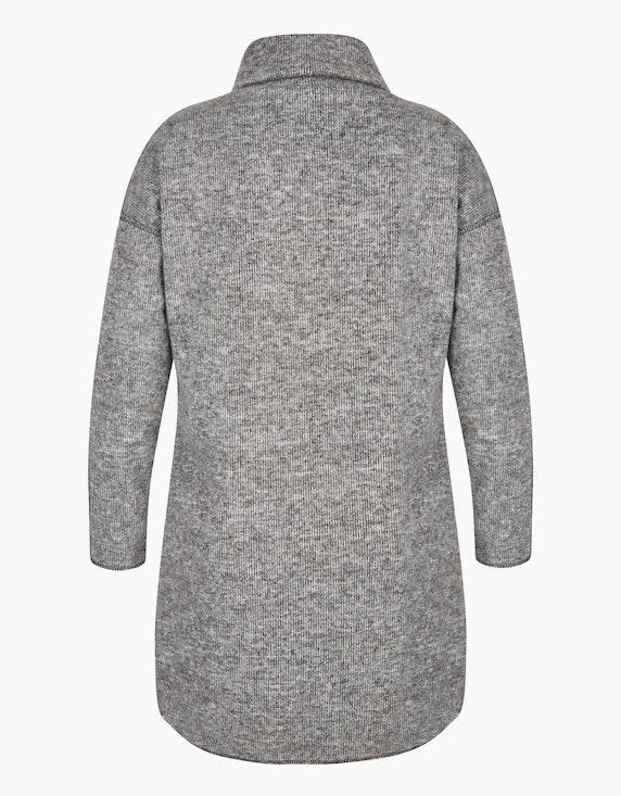 Via Cortesa Strick-Kleid mit Rollkragen und Fledermaus-Ärmeln | ADLER Mode Onlineshop