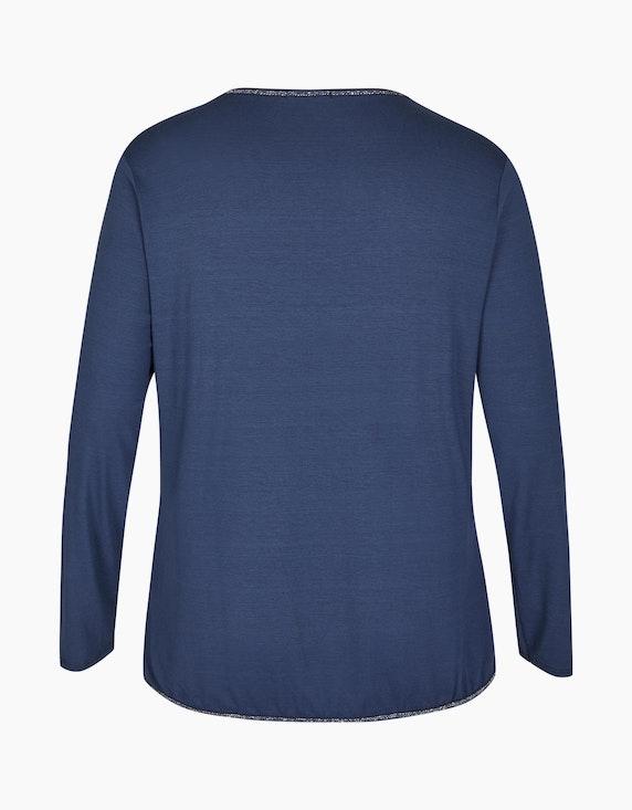 Thea Shirt mit Front-Herz-Print und Glitzereffekt | ADLER Mode Onlineshop