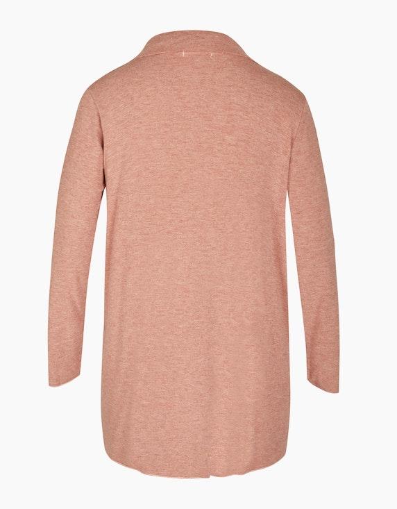 Thea Feinstrick-Jacke in Melange-Optik, Woll-Viskose-Qualität | ADLER Mode Onlineshop