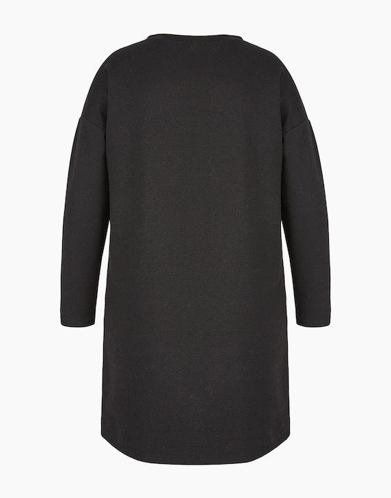 MY OWN Sweat-Kleid mit Folien-Letter-Print, Baumwoll-Stretch | ADLER Mode Onlineshop