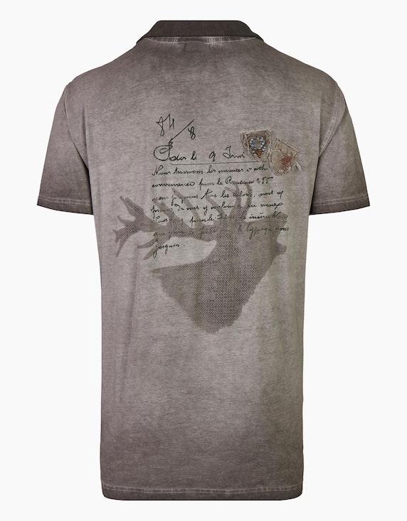Orbis Trachten T-Shirt mit Cold-Dyed Effekt | ADLER Mode Onlineshop