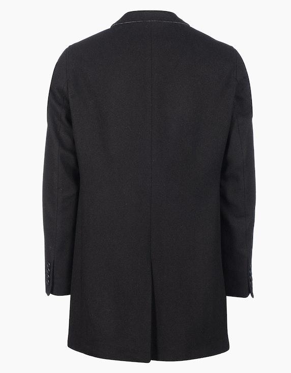 Bexleys man Unifarbener Wollmantel | ADLER Mode Onlineshop