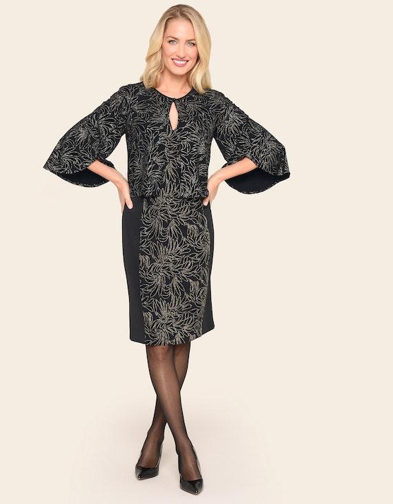 Bexleys woman Kleiderjacke mit Flock- und Glitzerdetails   ADLER Mode Onlineshop