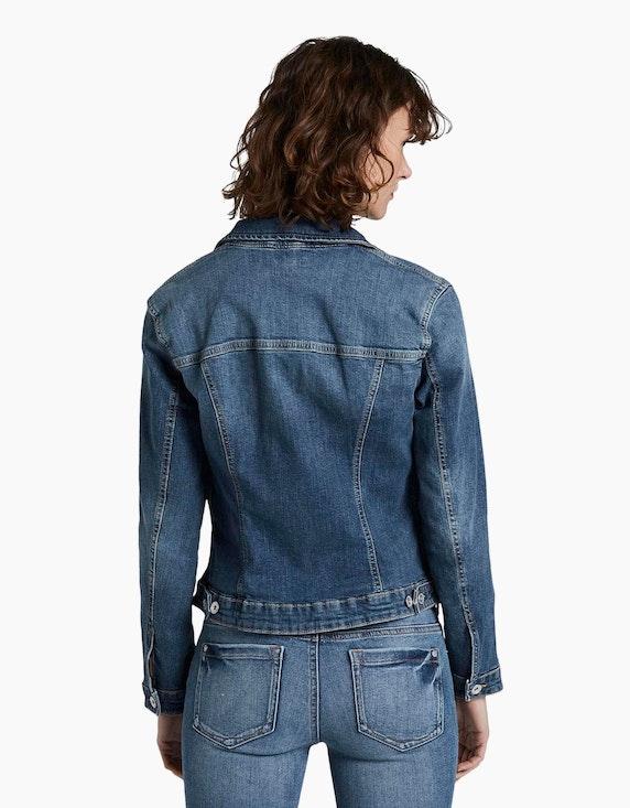 Tom Tailor Jeansjacke aus feinem Strukturdenim   ADLER Mode Onlineshop
