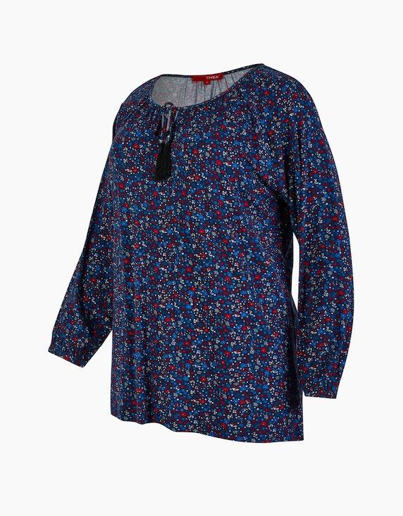 Thea Jersey-Shirt mit Blümchendruck | ADLER Mode Onlineshop