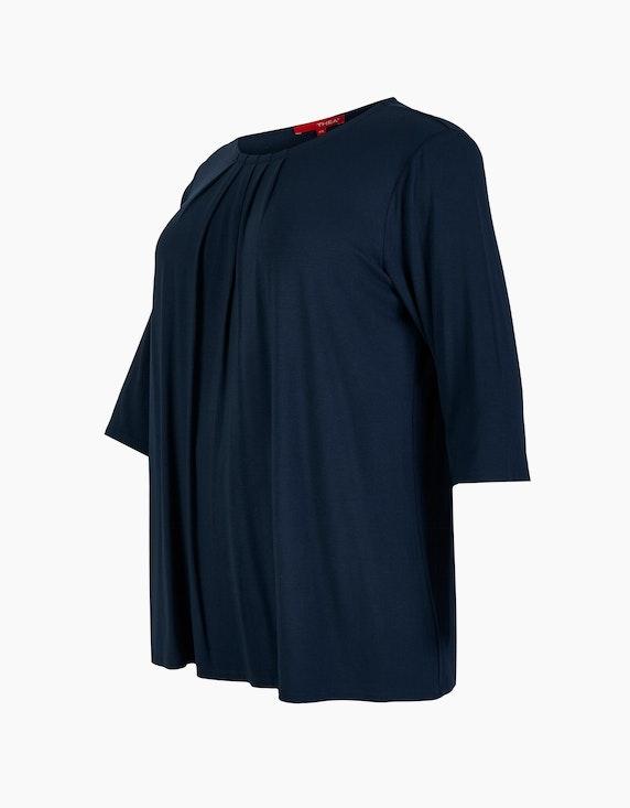 Thea Shirt mit Falten-Ausschnitt | ADLER Mode Onlineshop