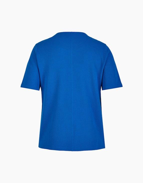 Thea Struktur-Shirt mit kurzem Arm | ADLER Mode Onlineshop