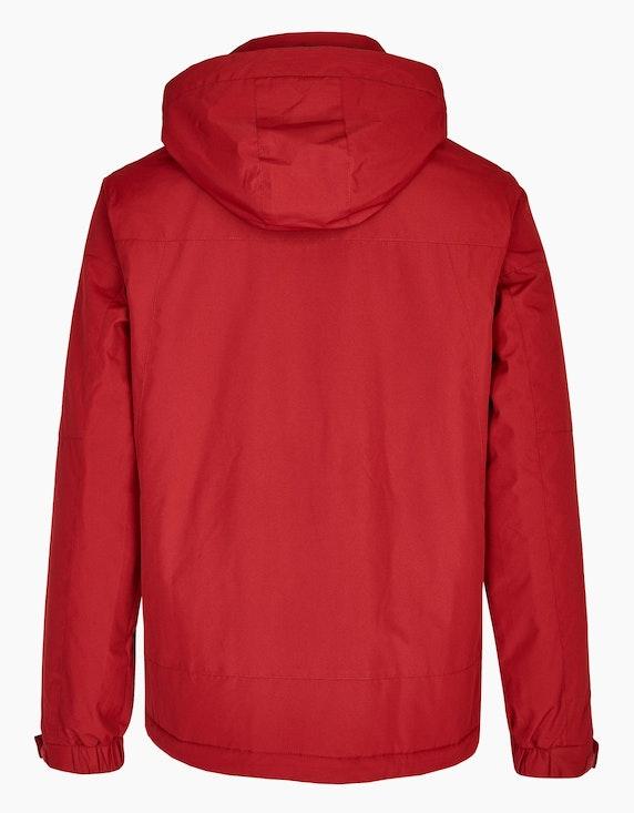 Eibsee Jacke mit Fleece-Kapuze und Details | ADLER Mode Onlineshop