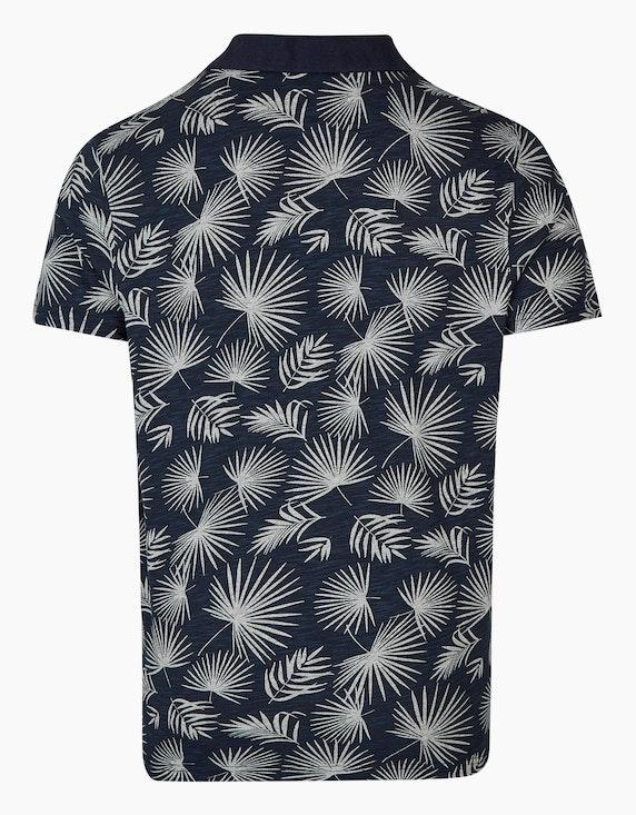 Bexleys man Polo-Shirt mit Druck | ADLER Mode Onlineshop