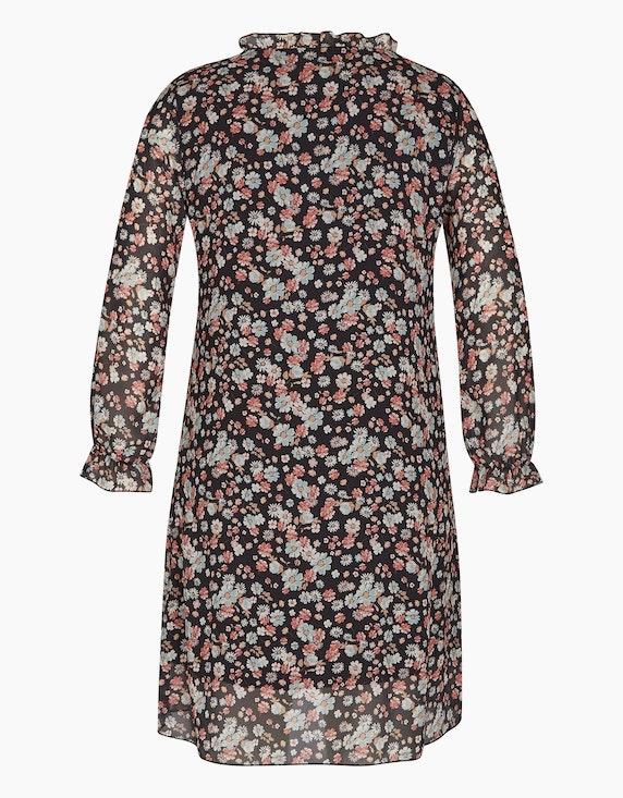 MY OWN Chiffon-Kleid im Tunika-Style mit Blumendruck | ADLER Mode Onlineshop