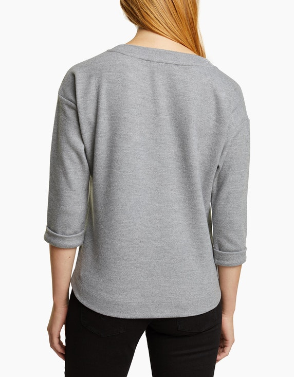 Esprit Angerautes Sweatshirt   ADLER Mode Onlineshop