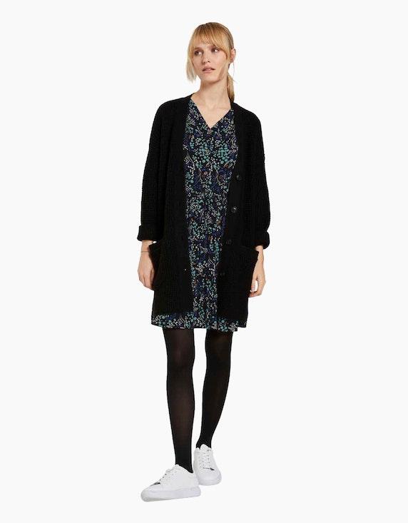 Tom Tailor Kleid mit Volants | ADLER Mode Onlineshop