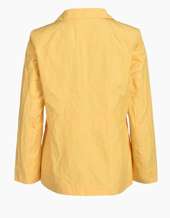 Bexleys woman Jacke aus Baumwollmischgewebe mit Metallanteil und Ösendetails   ADLER Mode Onlineshop