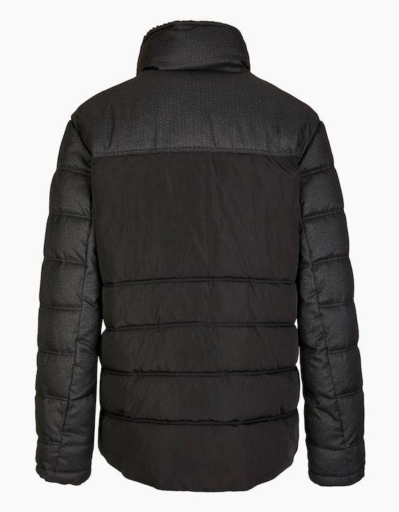 Bexleys man Daunentouch-Jacke im Materialmix | ADLER Mode Onlineshop