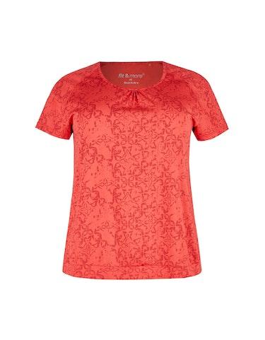 Sportmode - Gemustertes Fitness T Shirt, 44  - Onlineshop Adler