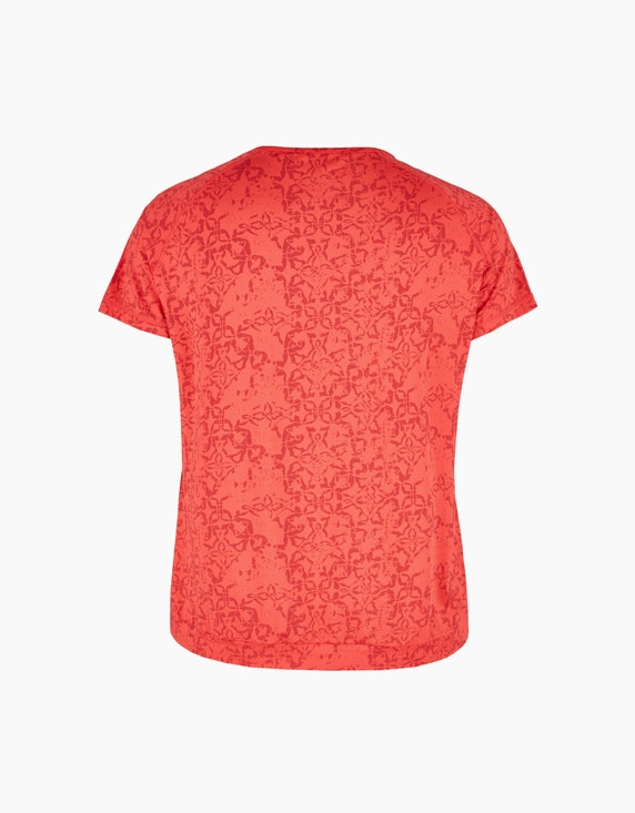 Fit&More Gemustertes Fitness T-Shirt | ADLER Mode Onlineshop