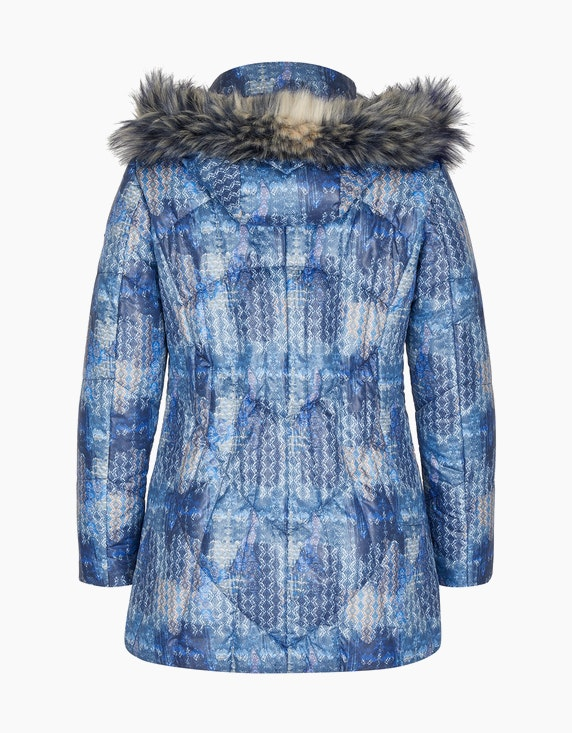 Adler Collection Steppjacke mit Allover-Druck | ADLER Mode Onlineshop