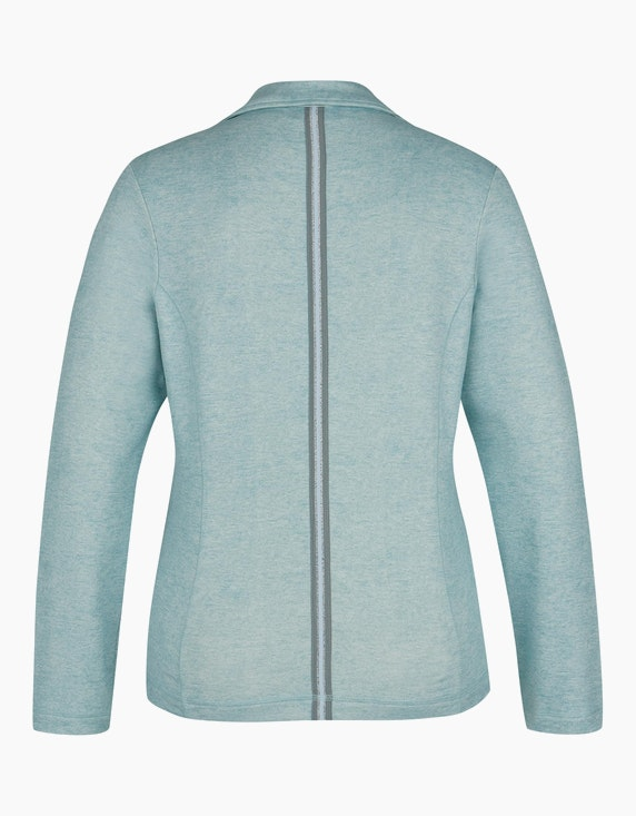 Bexleys woman Sweatblazer mit Ripsband-Besatz | ADLER Mode Onlineshop