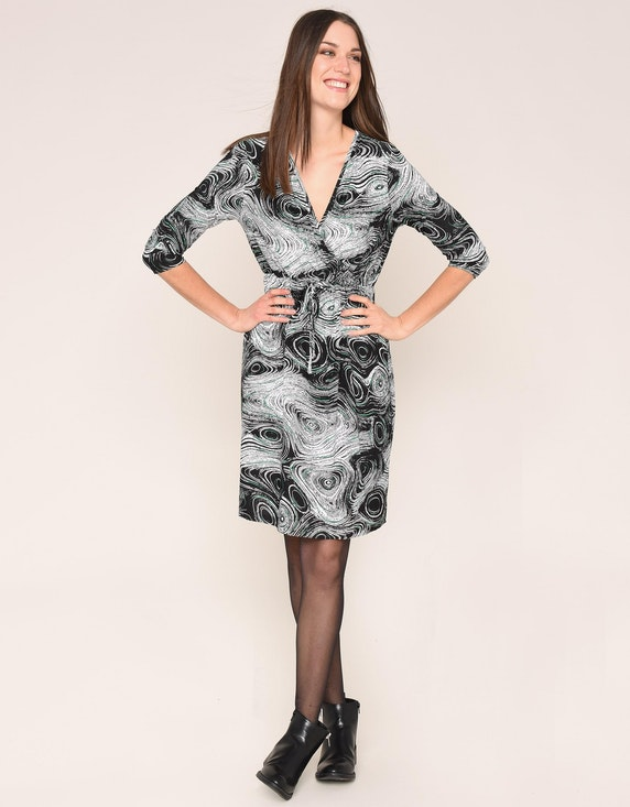 MY OWN Kleid in Wickel Optik | ADLER Mode Onlineshop
