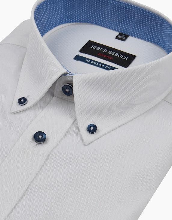 Bernd Berger Dresshemd, kurzarm, uni, REGULAR FIT | ADLER Mode Onlineshop