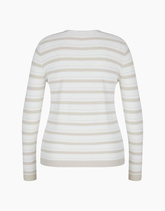 Bexleys woman Pullover mit Struktur und Strassbesatz   ADLER Mode Onlineshop