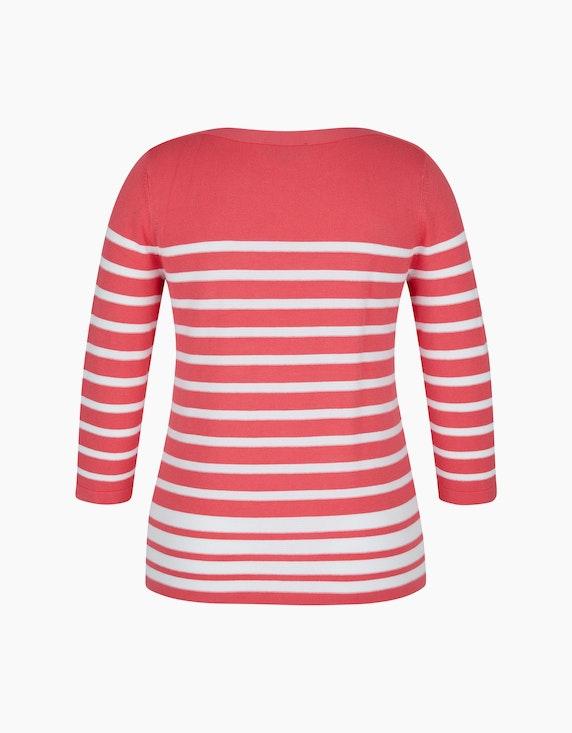 Bexleys woman Pullover mit Struktur-Streifen   ADLER Mode Onlineshop