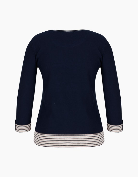 Bexleys woman Linksgestrickter Pullover | ADLER Mode Onlineshop