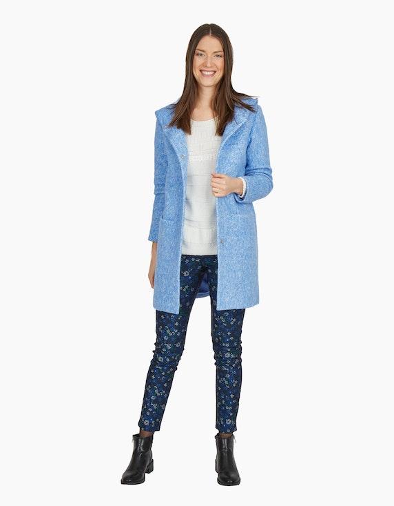 MY OWN Flauschiger Mantel mit Kapuze | ADLER Mode Onlineshop
