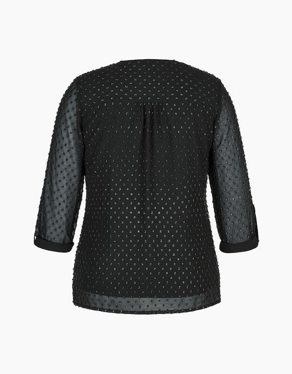 Bexleys woman Bluse mit Dobby-Struktur   ADLER Mode Onlineshop