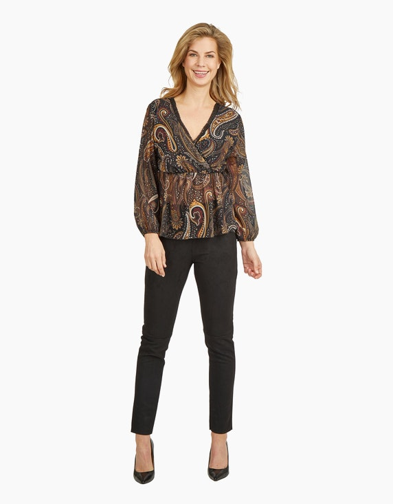 Made in Italy Chiffonbluse mit Empire-Naht | ADLER Mode Onlineshop