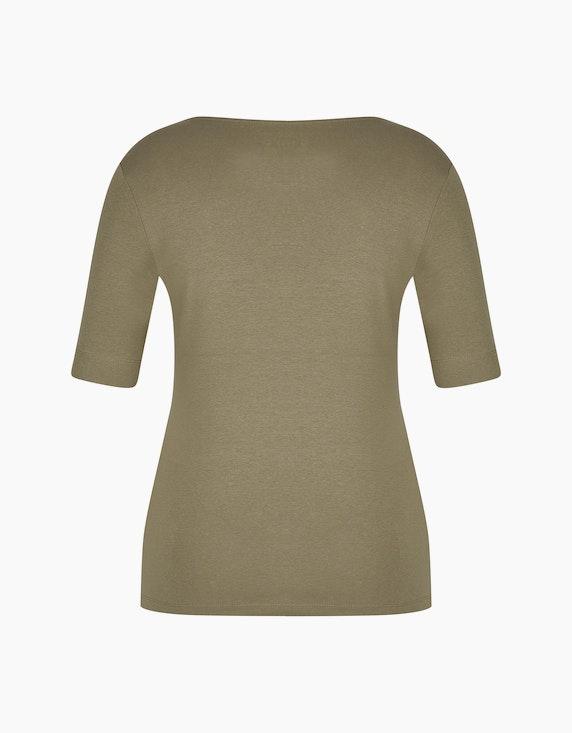 Bexleys woman Basic Kurzarmshirt mit Strassbesatz | ADLER Mode Onlineshop