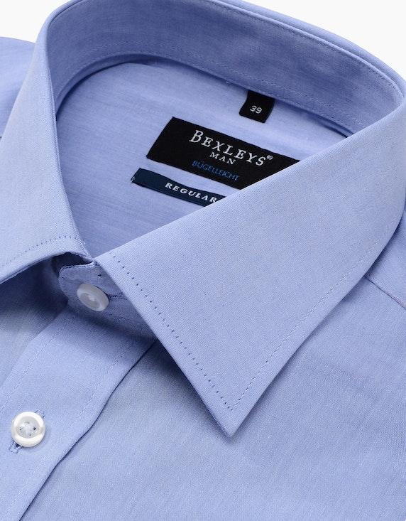 Bexleys man Klassisches Dresshemd unifarben, REGULAR FIT | ADLER Mode Onlineshop