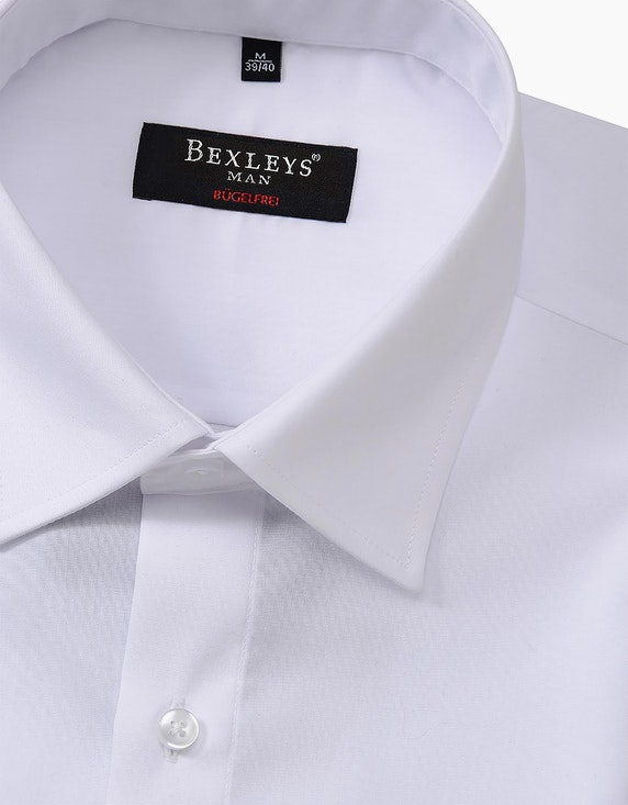 Bexleys man Dresshemd, kurzarm, uni | ADLER Mode Onlineshop