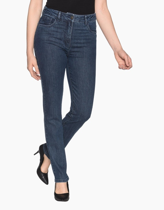"Bexleys woman Jeans ""Susi"" in Blue Stone 
