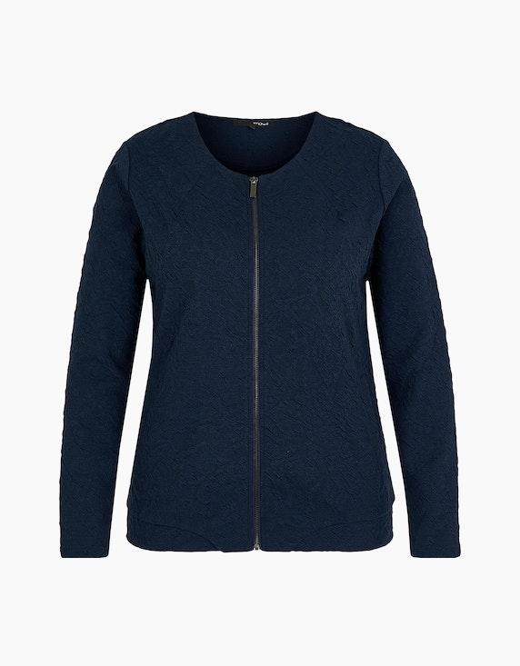 MY OWN Shirtjacke mit Reißverschluss in Navy | ADLER Mode Onlineshop