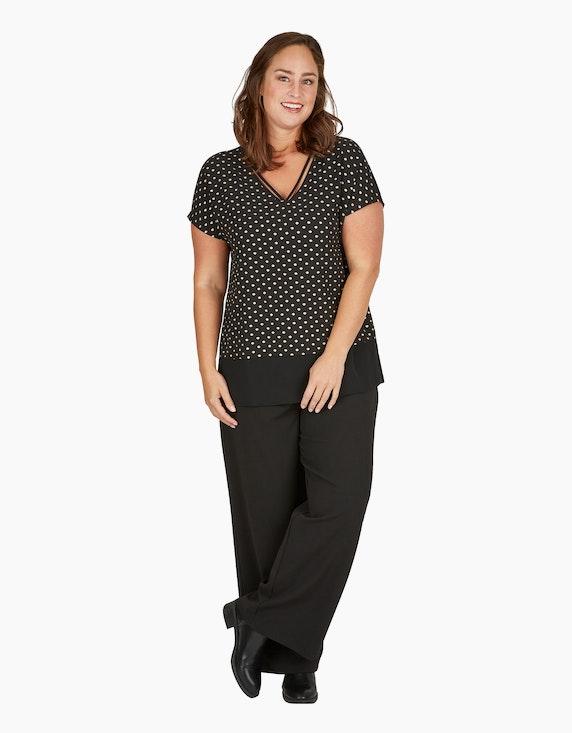 Thea Hose mit weitem Bein, Stretch | ADLER Mode Onlineshop