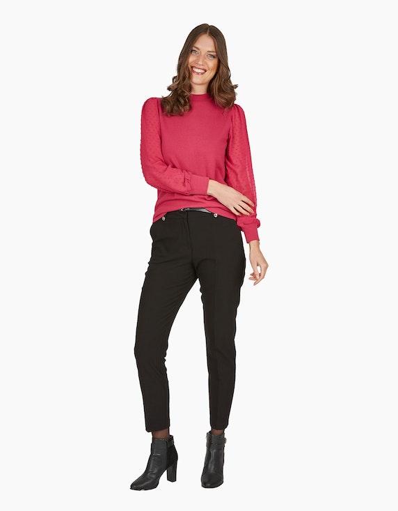 Viventy Hose mit Gürtel und goldfarbenen Knöpfen | ADLER Mode Onlineshop