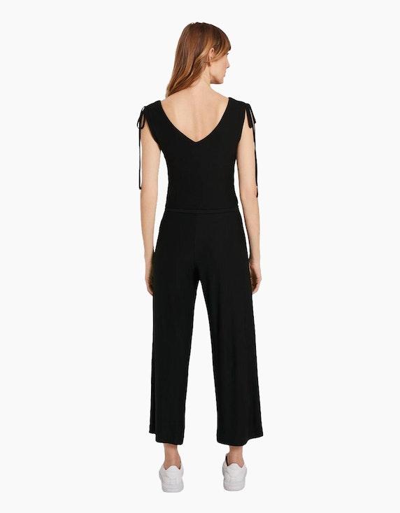 Tom Tailor Jumpsuit im Culotte-Style mit Bindegürtel | ADLER Mode Onlineshop