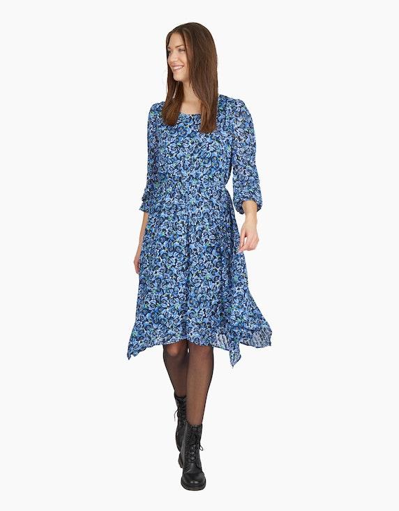 MY OWN Chiffon-Kleid mit floralem Druck | ADLER Mode Onlineshop