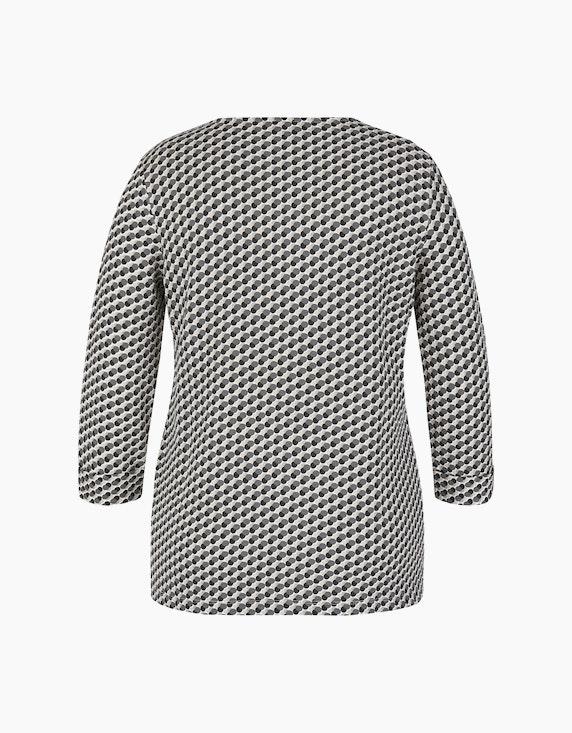 Bexleys woman Shirt mit Druck, Struktur und Strassbesatz | ADLER Mode Onlineshop